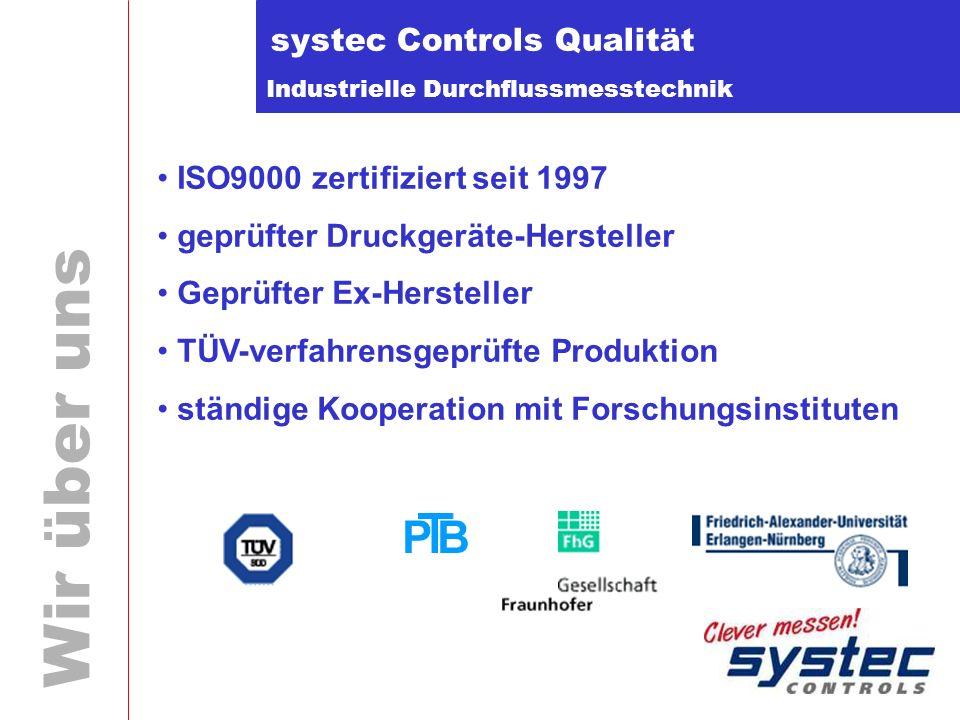 systec Controls Qualität