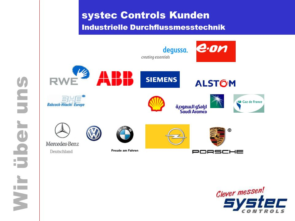 systec Controls Kunden