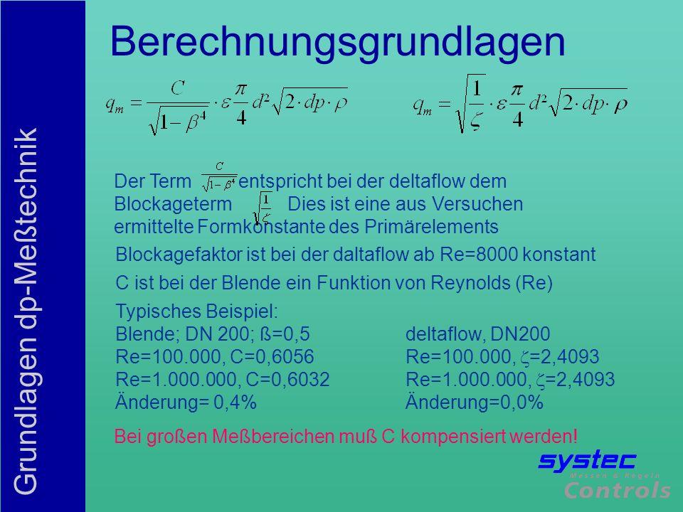 Berechnungsgrundlagen