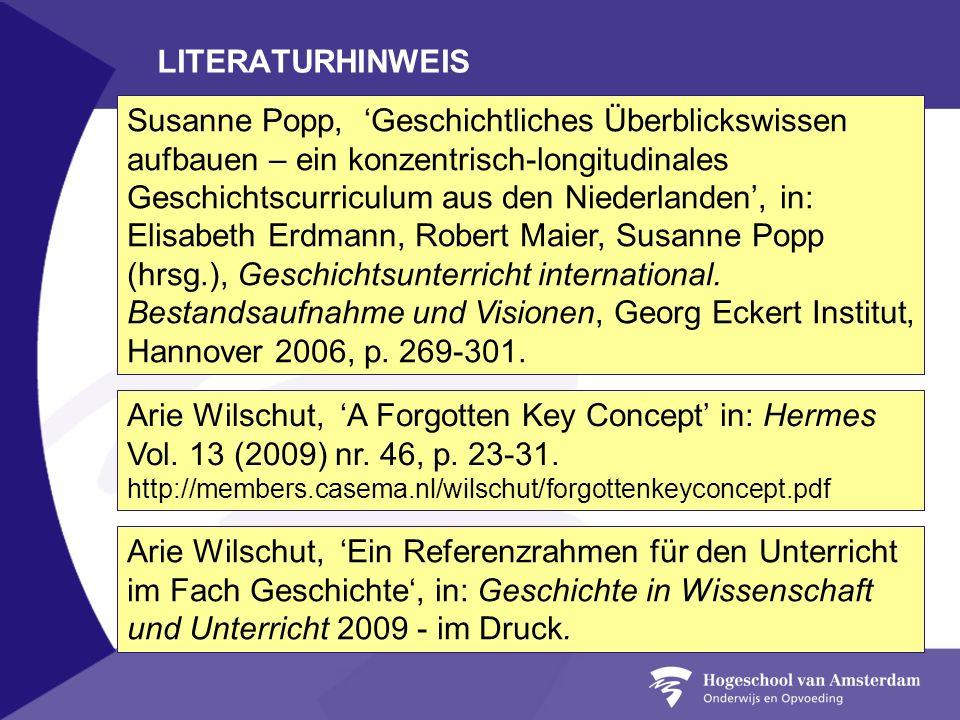 LITERATURHINWEIS
