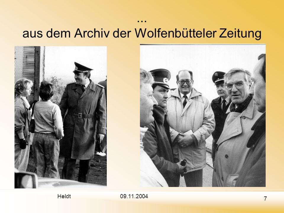 ... aus dem Archiv der Wolfenbütteler Zeitung