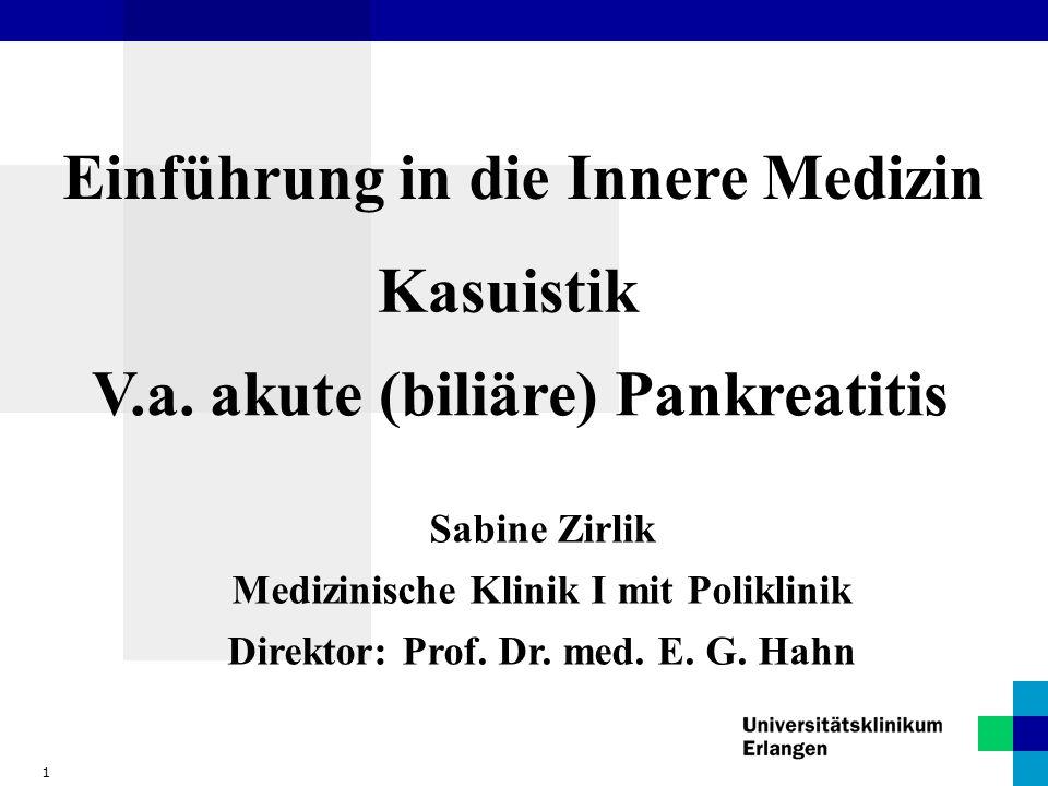 Einführung in die Innere Medizin