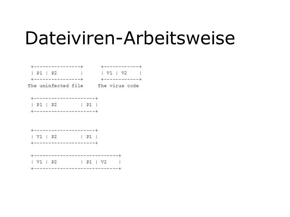 Dateiviren-Arbeitsweise