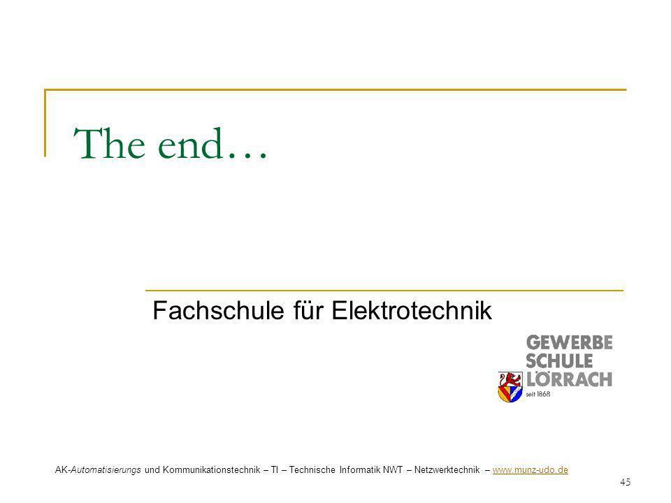 Fachschule für Elektrotechnik