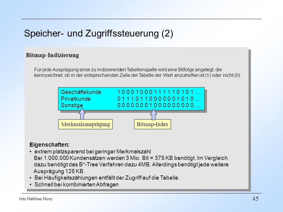 Speicher- und Zugriffssteuerung (2)