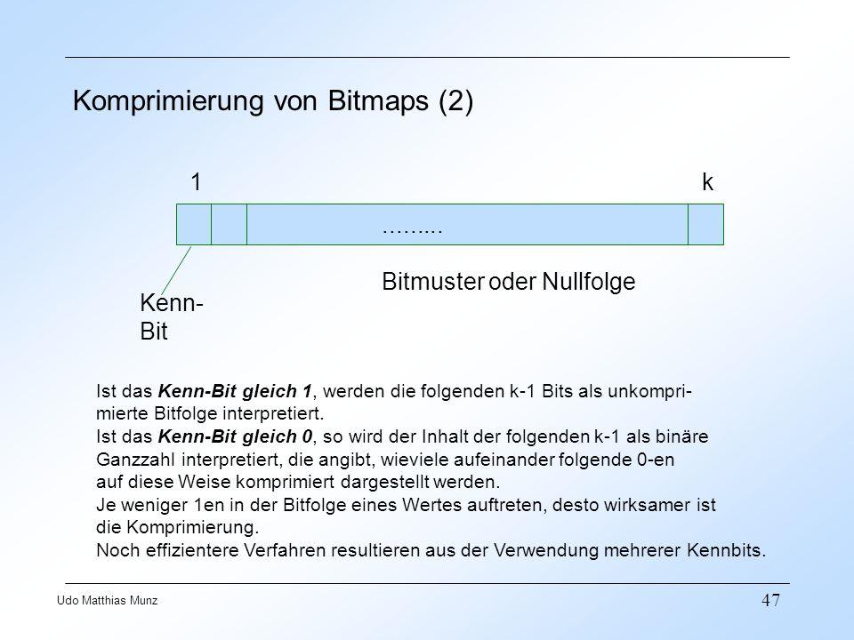Komprimierung von Bitmaps (2)