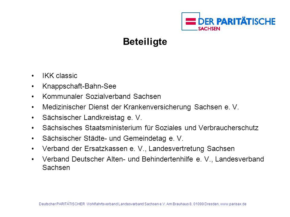 Beteiligte IKK classic Knappschaft-Bahn-See