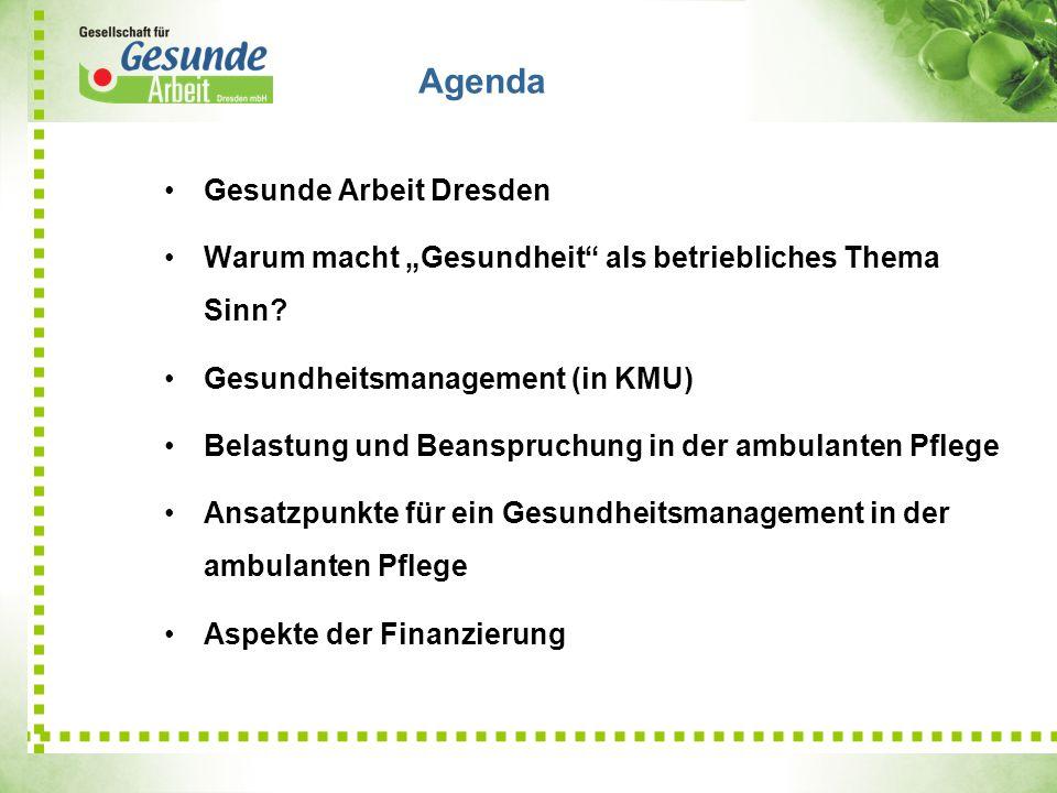 Agenda Gesunde Arbeit Dresden