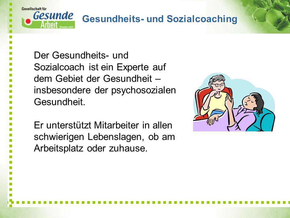 Gesundheits- und Sozialcoaching
