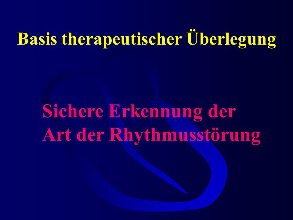 Basis therapeutischer Überlegung