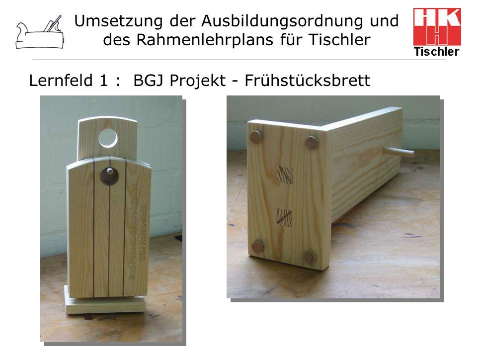 Lernfeld 1 : BGJ Projekt - Frühstücksbrett