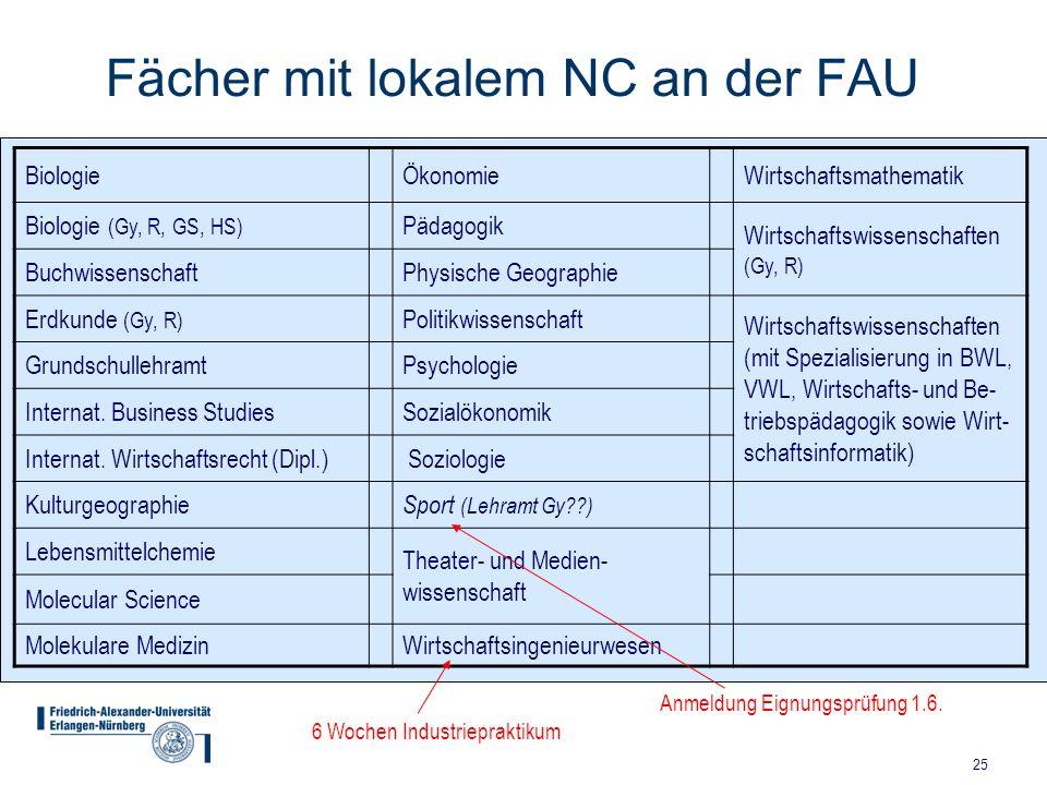 Friedrich alexander universit t erlangen n rnberg ppt for Psychologie lehramt nc
