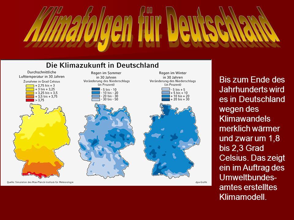 Klimafolgen für Deutschland