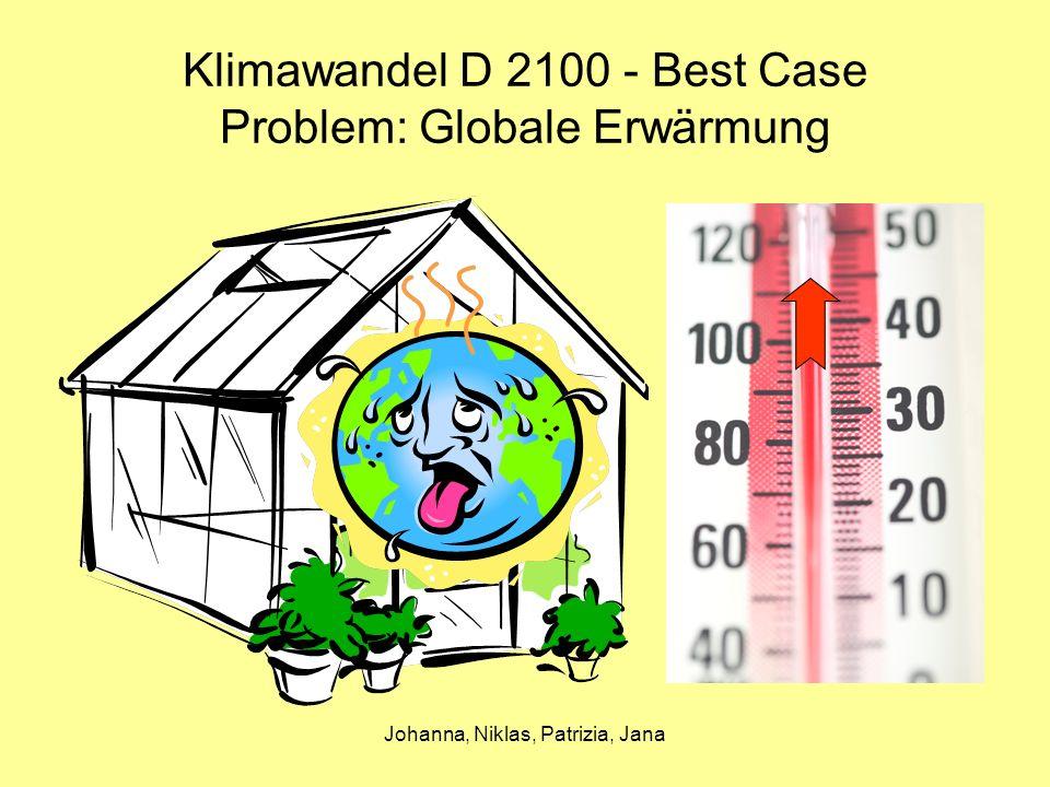 Klimawandel D 2100 - Best Case Problem: Globale Erwärmung