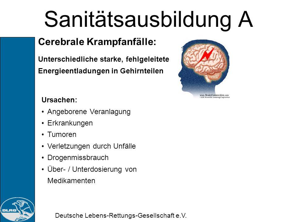 Sanitätsausbildung A Cerebrale Krampfanfälle: