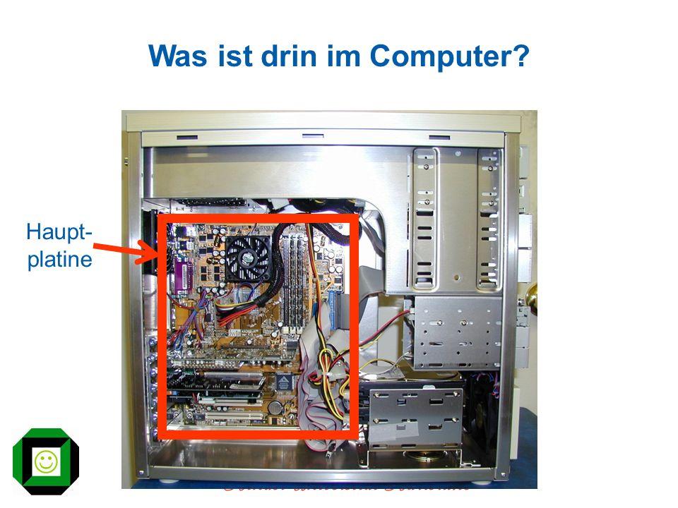 Was ist drin im Computer