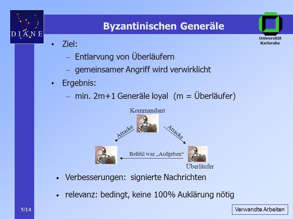 Byzantinischen Generäle