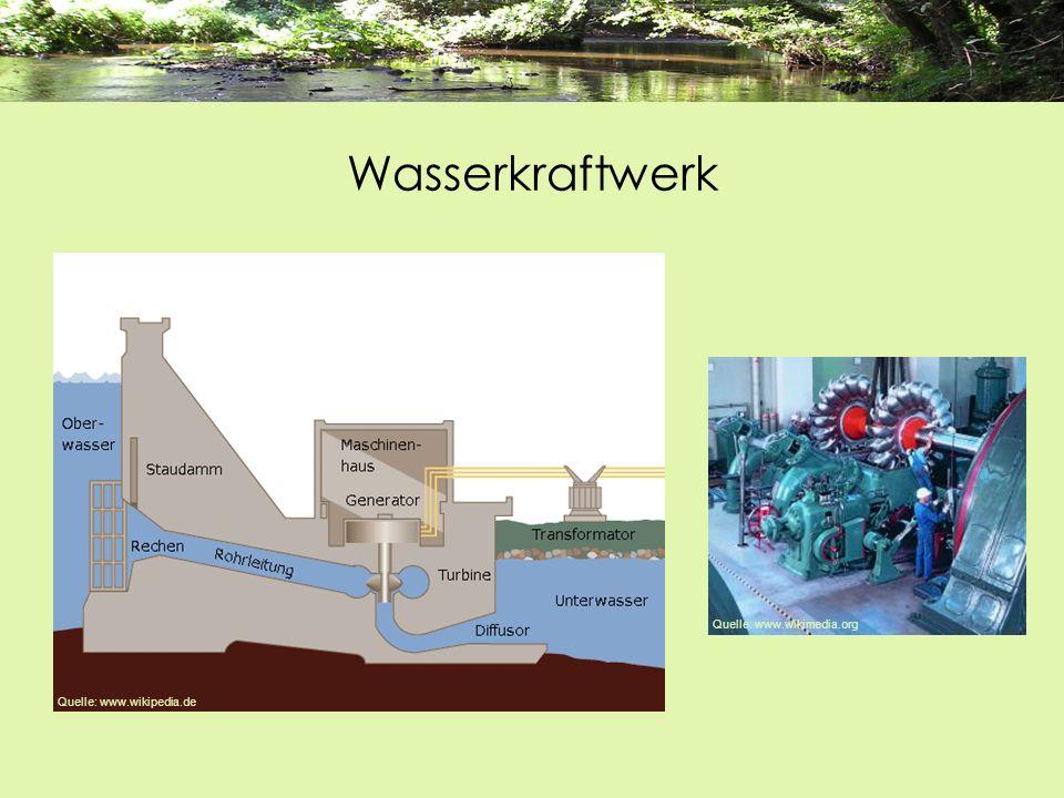 Wasserkraftwerk Quelle: www.wikimedia.org Quelle: www.wikipedia.de
