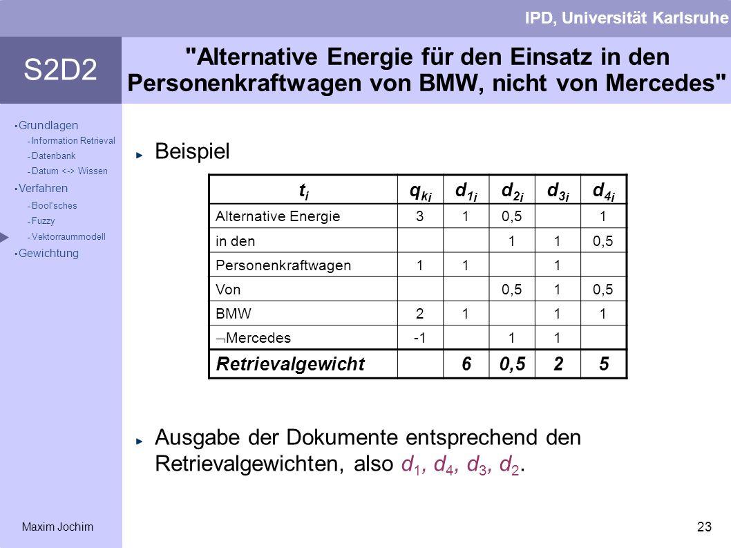 Alternative Energie für den Einsatz in den Personenkraftwagen von BMW, nicht von Mercedes