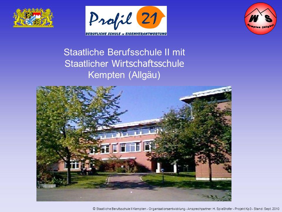 W S Kempten (Allgäu) Staatliche Berufsschule II mit Staatlicher Wirtschaftsschule Kempten (Allgäu)