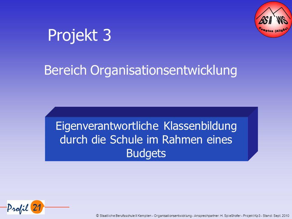 Bereich Organisationsentwicklung