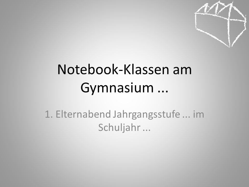 Notebook-Klassen am Gymnasium ...