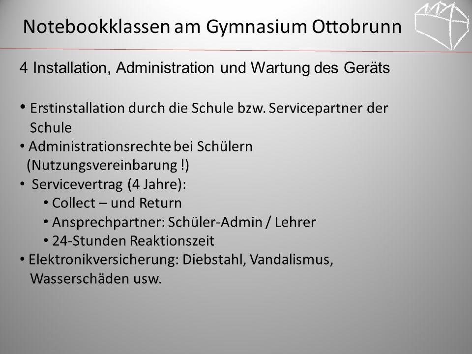 Notebookklassen am Gymnasium Ottobrunn