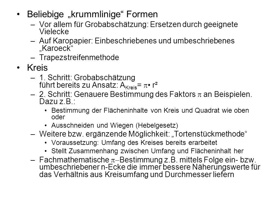 """Beliebige """"krummlinige Formen"""