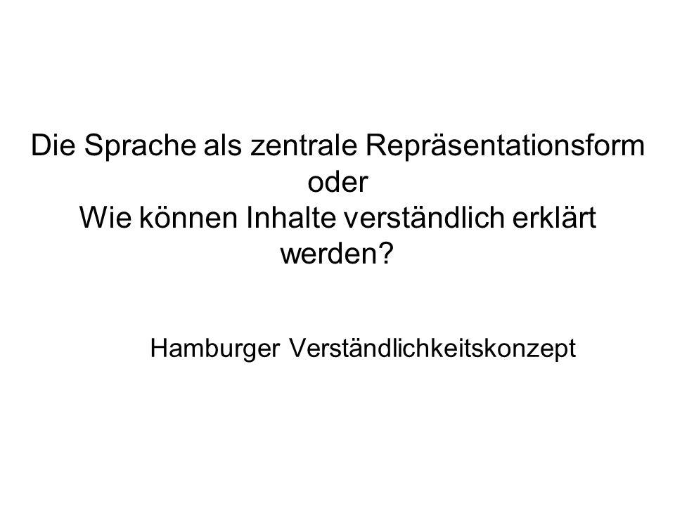 Hamburger Verständlichkeitskonzept