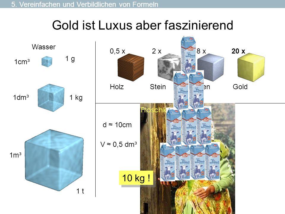 Gold ist Luxus aber faszinierend