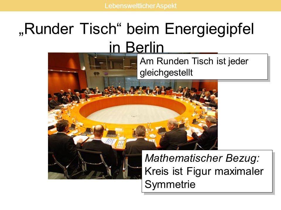 """""""Runder Tisch beim Energiegipfel in Berlin"""