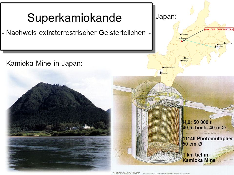 Superkamiokande Japan:
