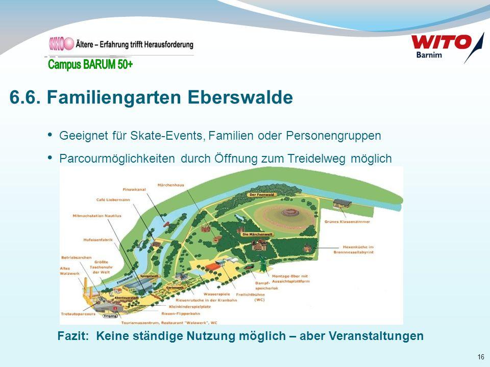 6.6. Familiengarten Eberswalde