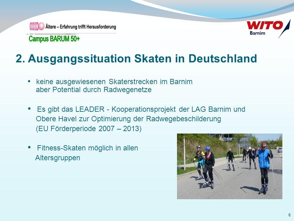 2. Ausgangssituation Skaten in Deutschland