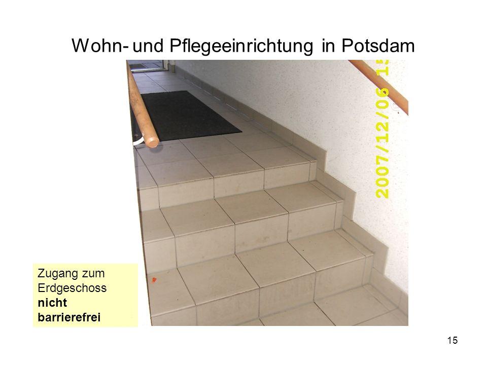 Wohn- und Pflegeeinrichtung in Potsdam