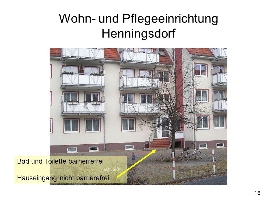 Wohn- und Pflegeeinrichtung Henningsdorf