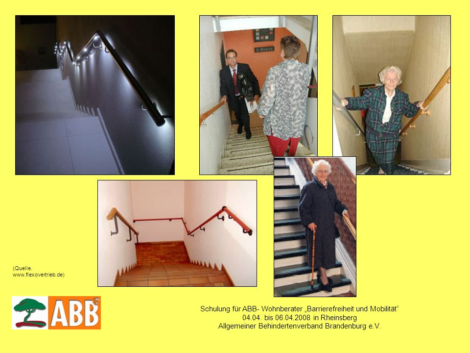 """Schulung für ABB- Wohnberater """"Barrierefreiheit und Mobilität"""