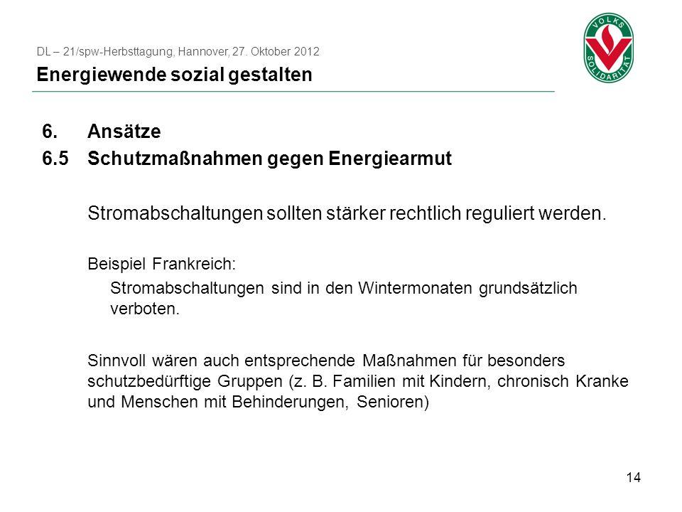 Energiewende sozial gestalten