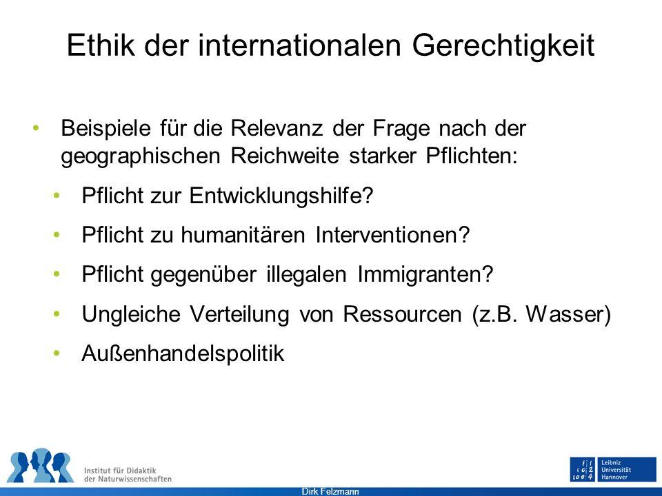 Ethik der internationalen Gerechtigkeit