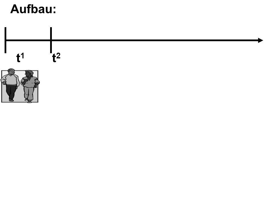 Aufbau: t1 t2