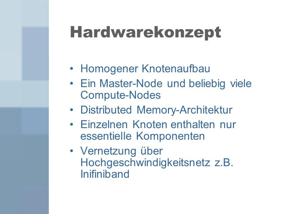 Hardwarekonzept Homogener Knotenaufbau