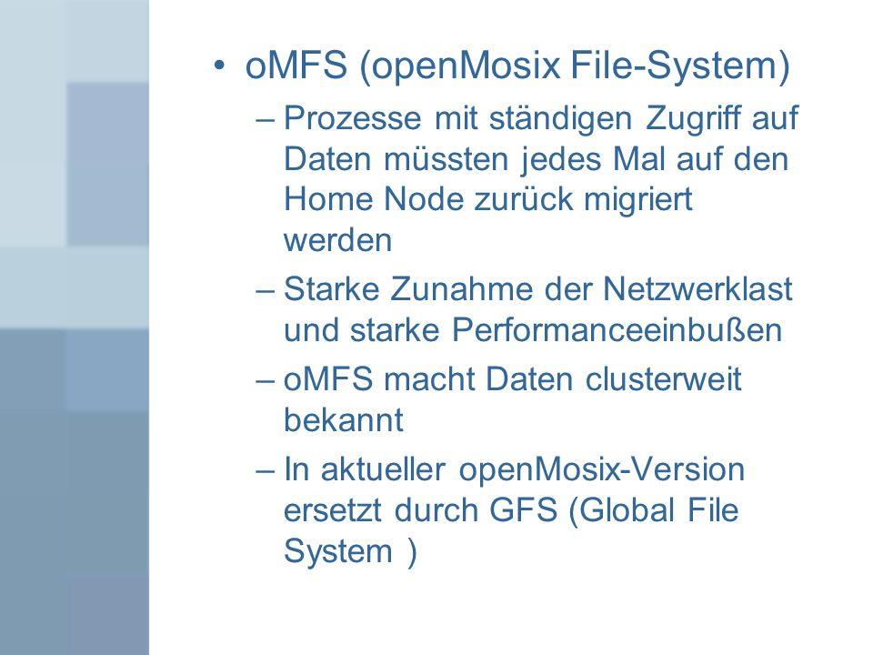 oMFS (openMosix File-System)