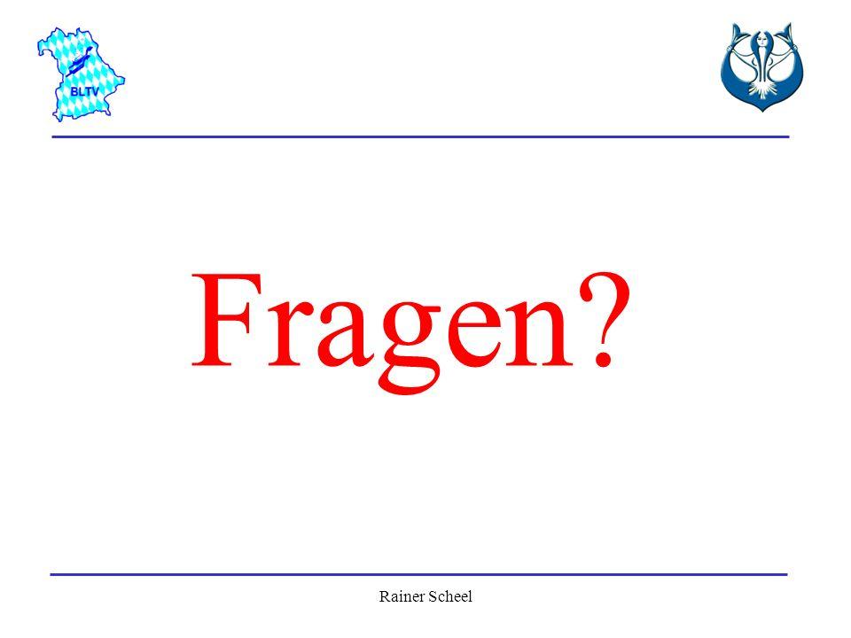 Fragen Rainer Scheel