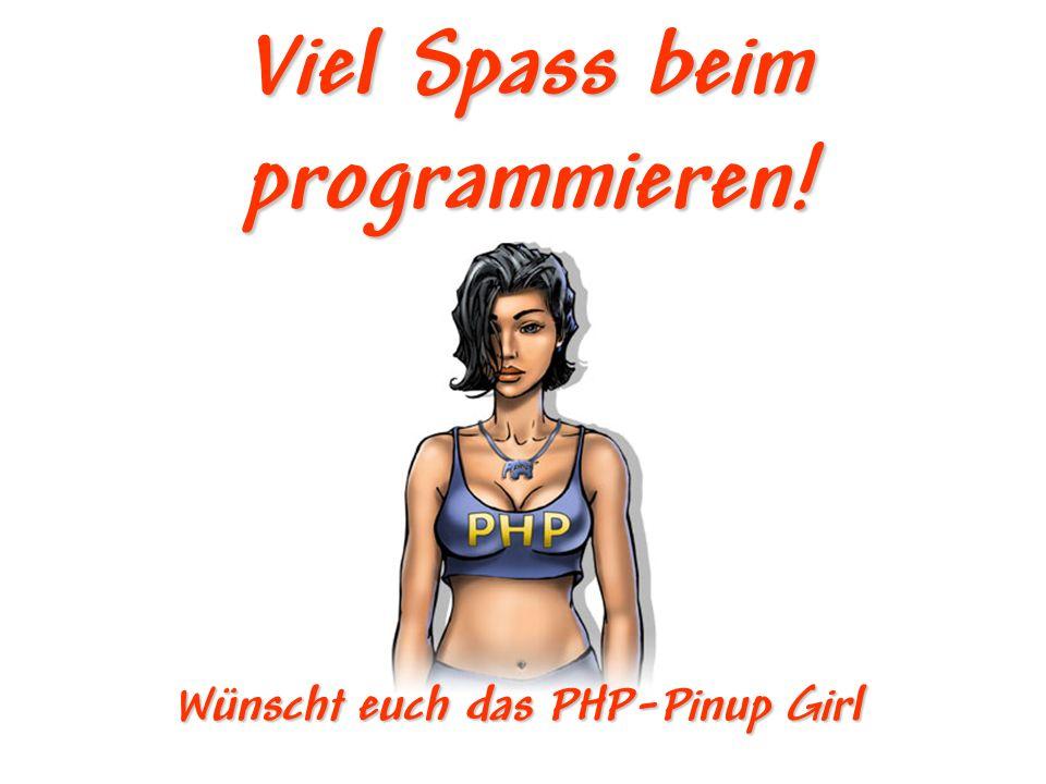 Viel Spass beim programmieren!