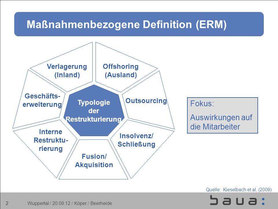 Maßnahmenbezogene Definition (ERM)