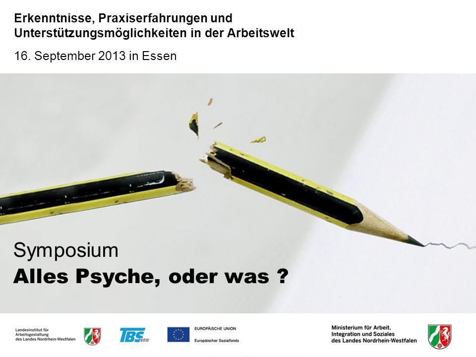 Symposium Alles Psyche, oder was