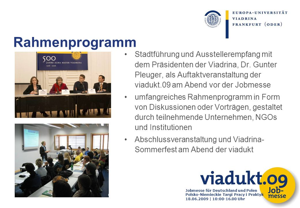 Rahmenprogramm