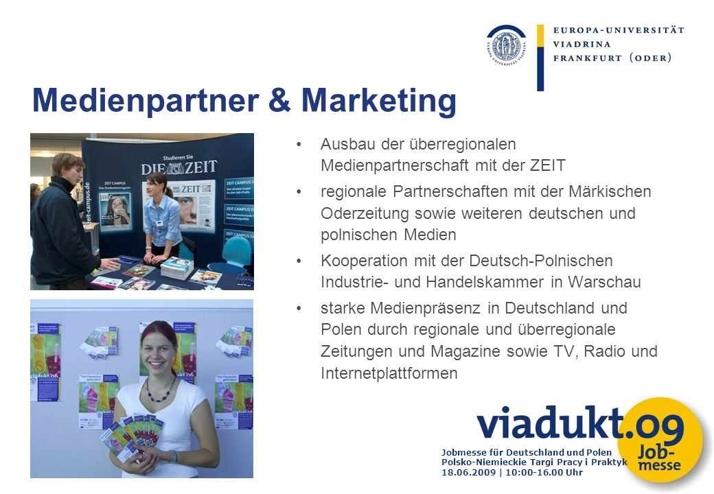 Medienpartner & Marketing