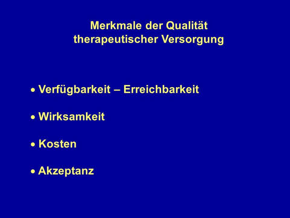 therapeutischer Versorgung