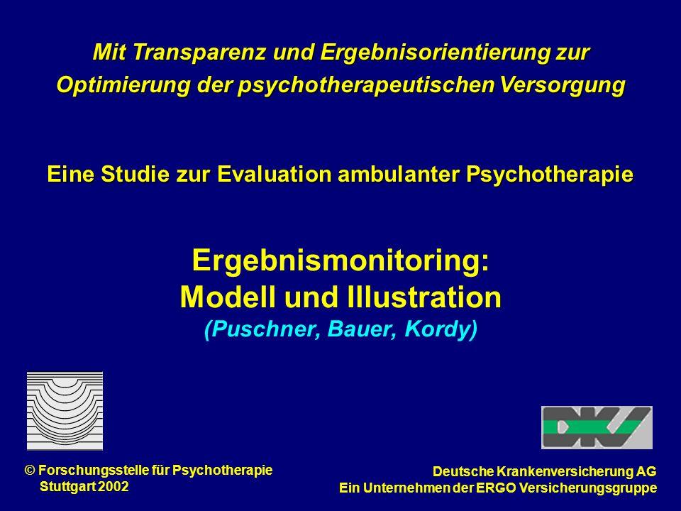Ergebnismonitoring: Modell und Illustration (Puschner, Bauer, Kordy)